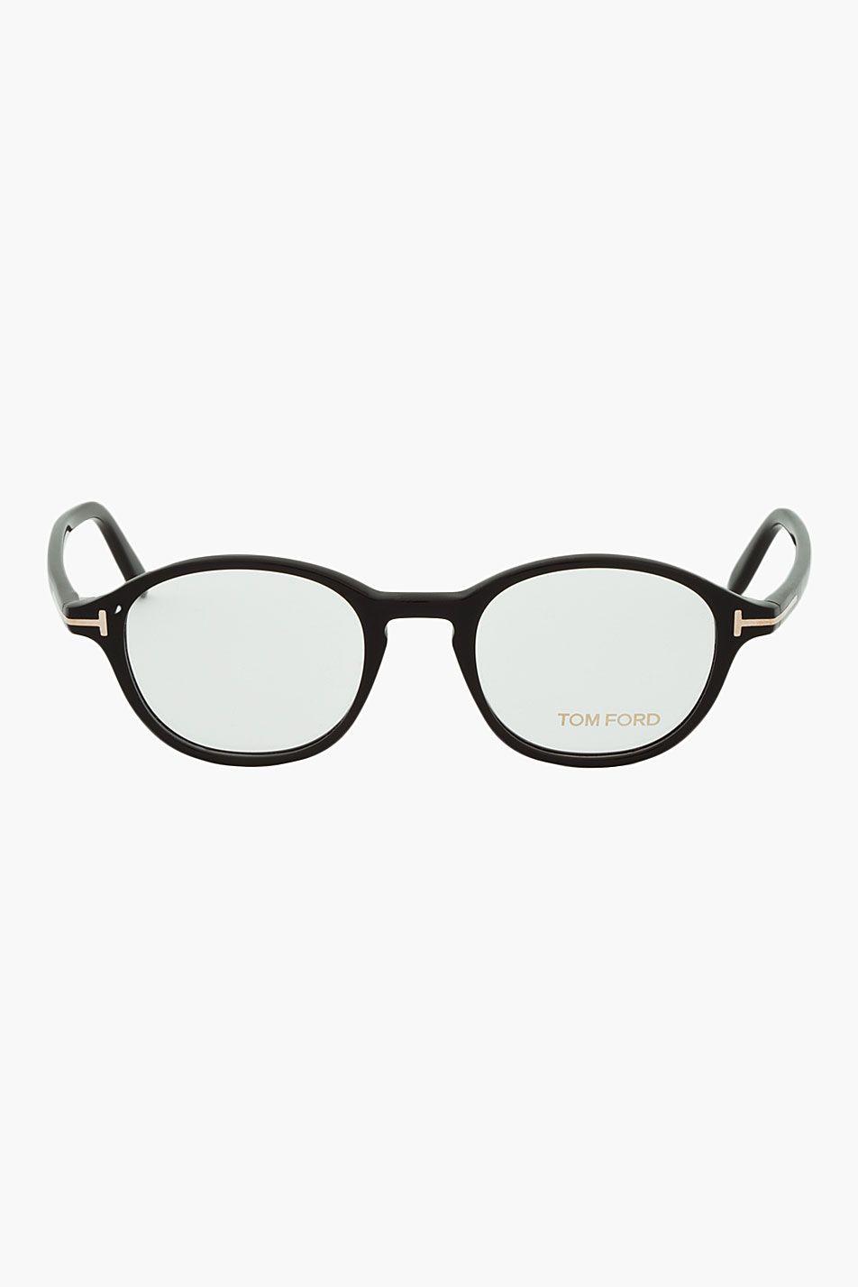 TOM FORD Black Round FT5150 Glasses