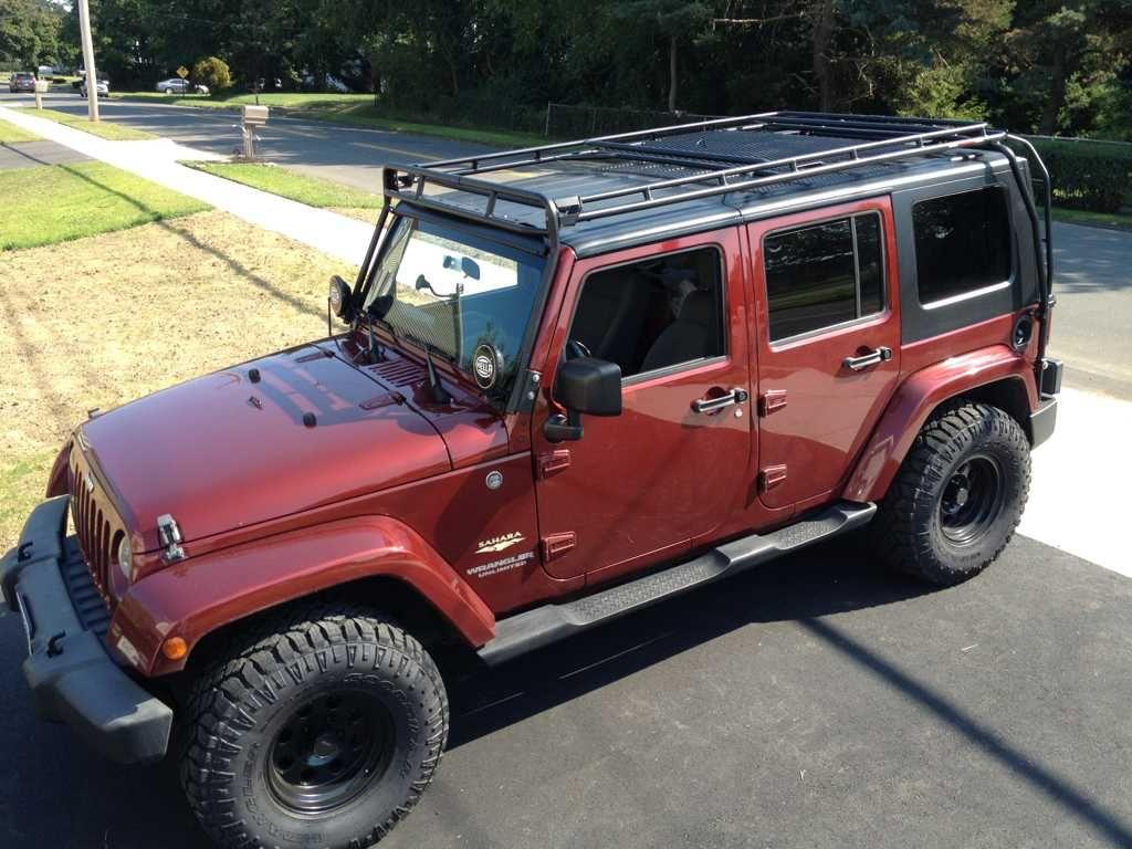 Fs Gobi Stealth Rack For 4 Door Jk Stealth Jeep Jk Jeep Wrangler