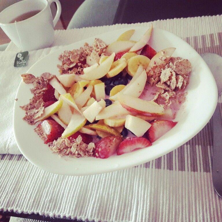 #morning #breakfast #fit #healthy #fruits #lovingmyself