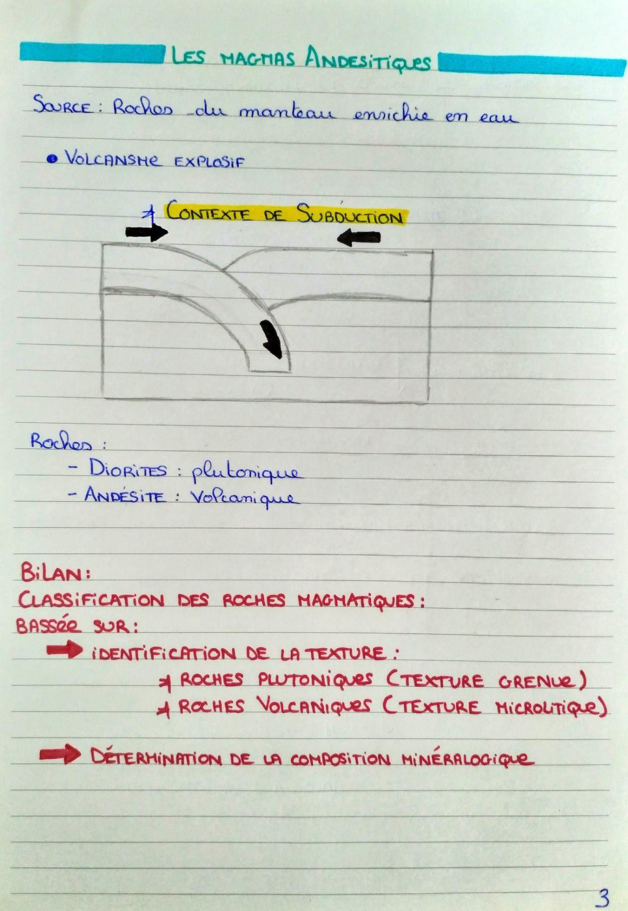 Epingle Sur Cours De Geologie Fac