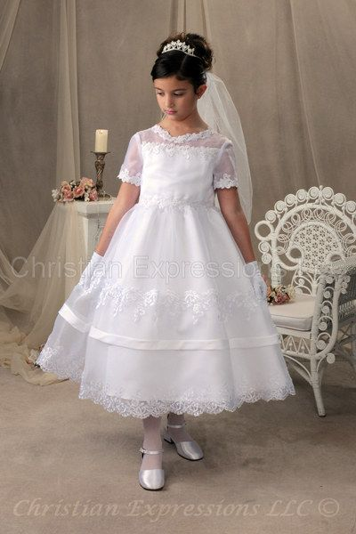 plus size first communion dresses | First Communion ...