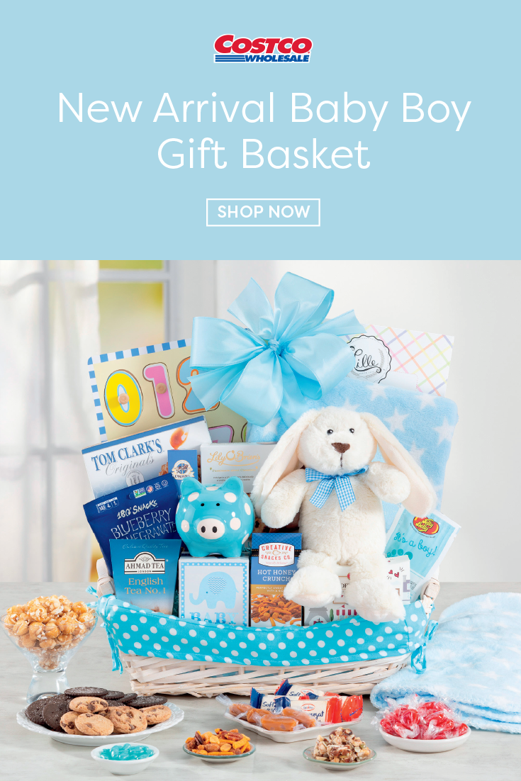 Costco Easter Baskets: New Arrival Baby Boy Gift Basket In 2020