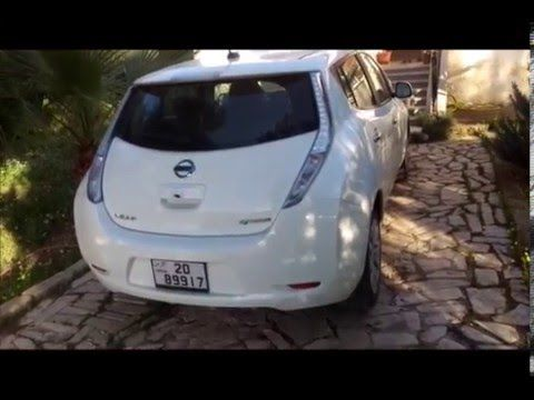 Nissan Leaf Ev Electric Car In Jordan ???????? ??????????
