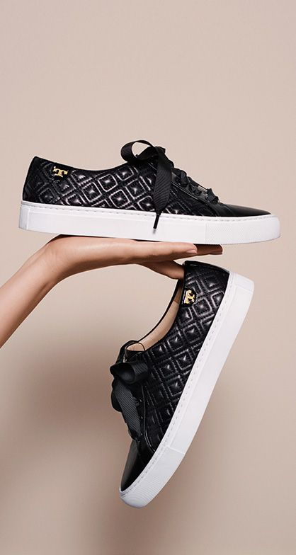 2a0c7f3e79a Marion Quilted Sneaker Tory Burch