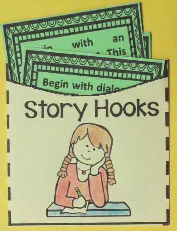 Teaching Students to Write a Narrative ~ The Hook | School Stuff