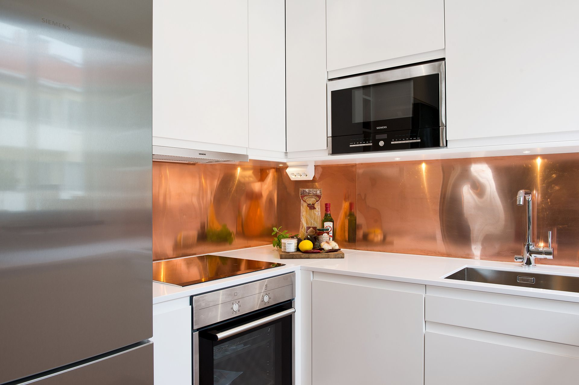 Image Result For Copper Splashback