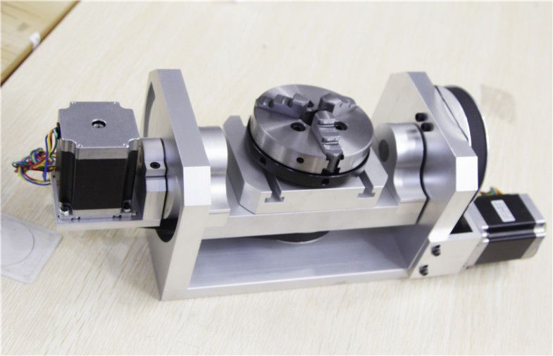 China 5 Axis Cnc Machine 4th Homemade Dividing Head For Table Top Router Supplier