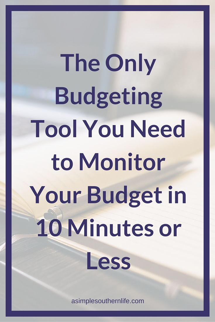 the only budget calculator you need to monitor your budget in 10