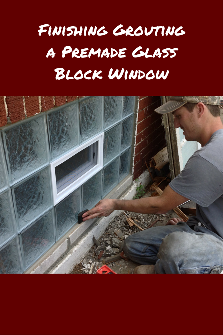 Why Struggle With A Glass Block Basement Window Installation Using - Cost to add window in bathroom
