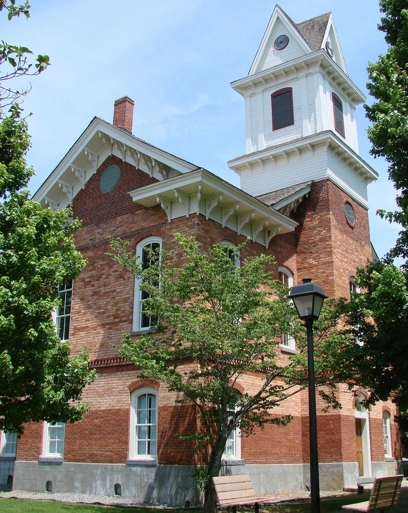Old Clay County Courthouse in Hayesville, North Carolina