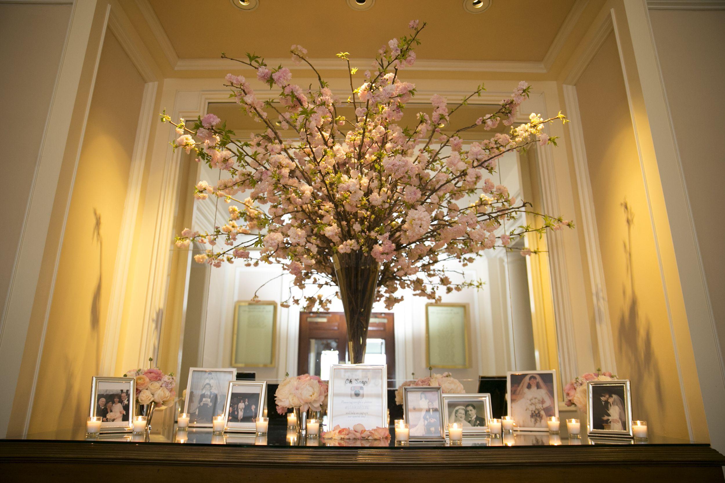Love Size And Fullness Ds Cherry Blossom Flowers Pink Flower Arrangements Wedding Flower Arrangements