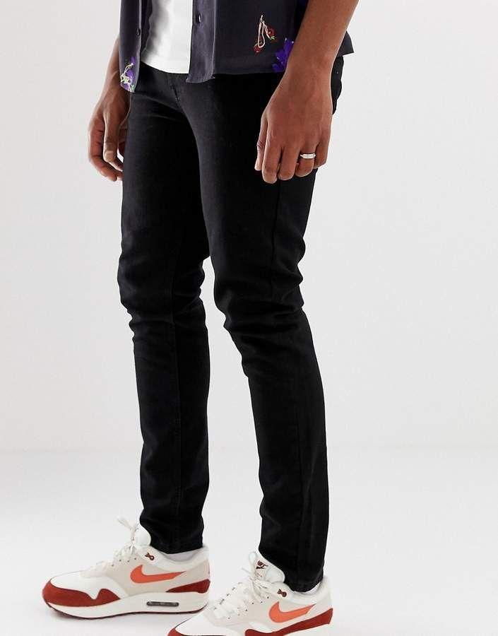 Collusion COLLUSION Skinny Jeans In Black