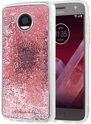 216f987e767 Case-Mate Waterfall Case for Moto Z2 Play, Rose-Gold | Products in ...