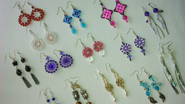 Earrings collection weekend