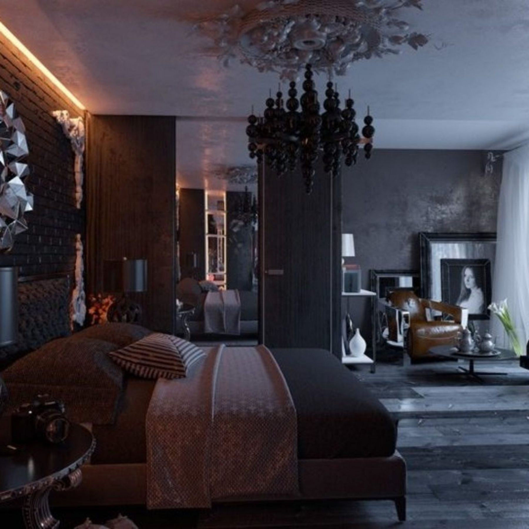 10 Elegant Gothic Bedroom Design Ideas For Your Best Bedroom