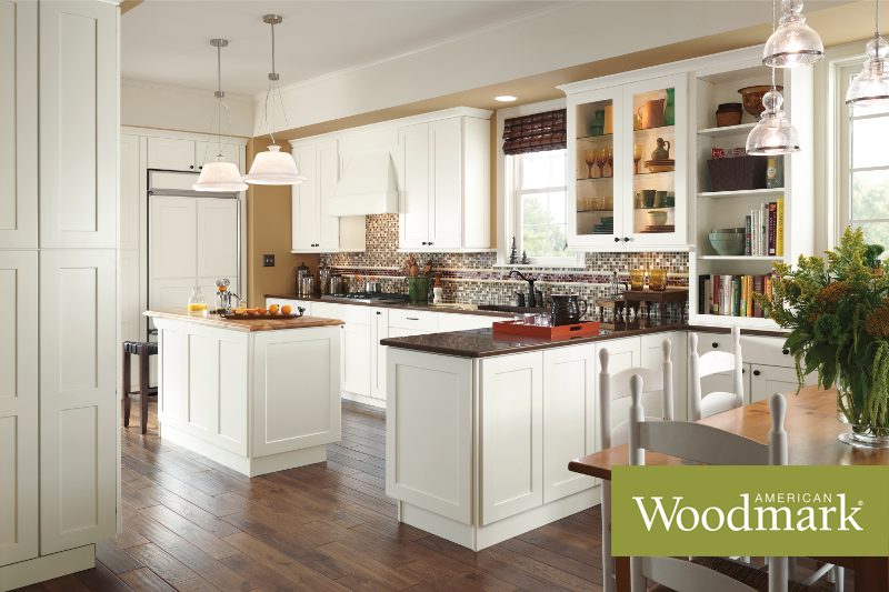 Reading Painted Linen Kitchen Cabinet Styles Traditional Kitchen Design American Woodmark Cabinets