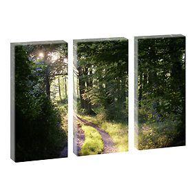 Bild Fotoleinwand Fensterblick  Strand  Meer Poster Wandbild 120 cm*80 cm 219 d