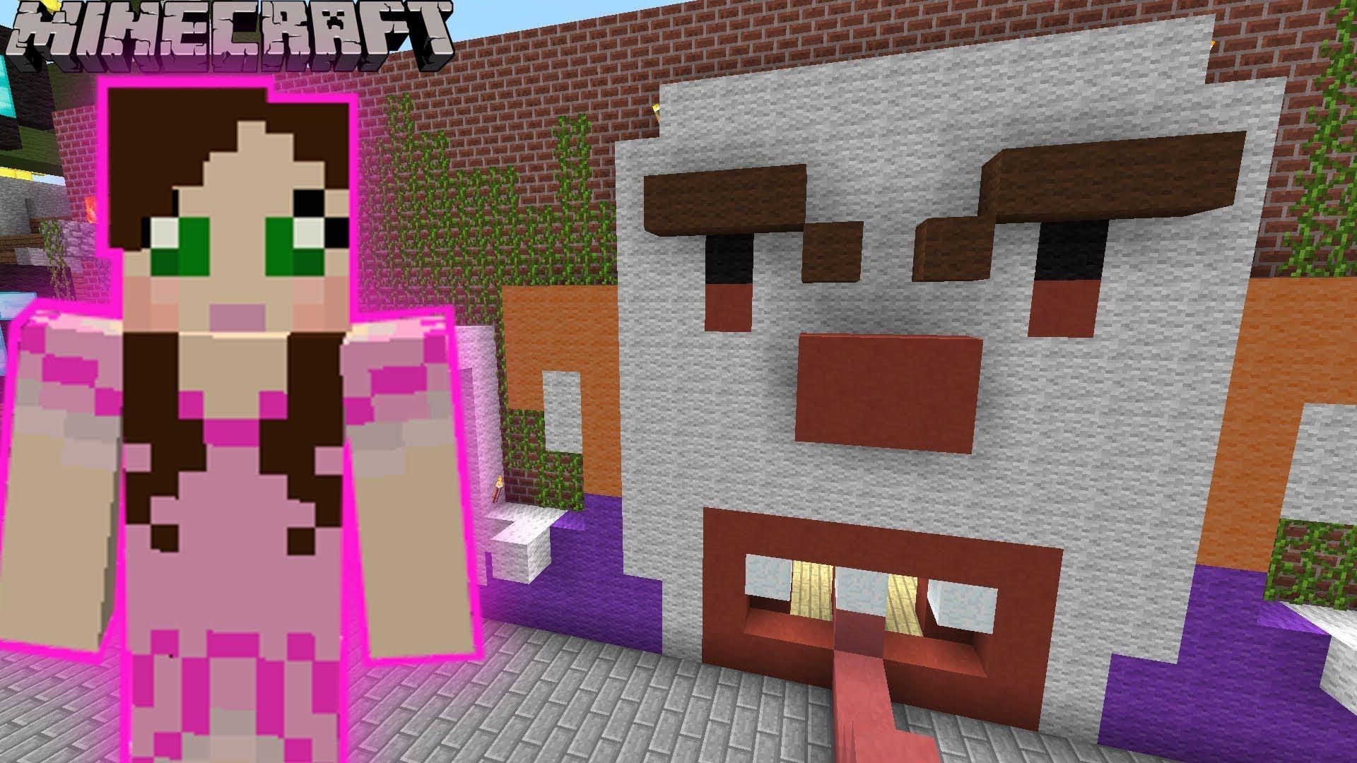 [Popularmmos - Minecraft ] GALAXY WORLD PARK - CLOWN CHASE GAME - Custom...
