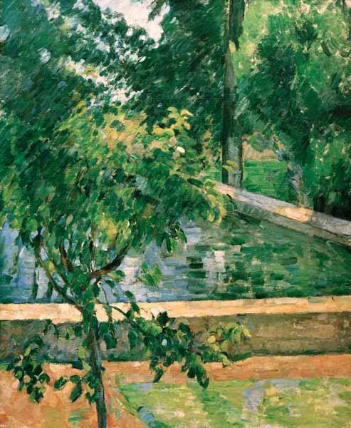 Paul Cézanne - Bassin des Jas de Bouffan