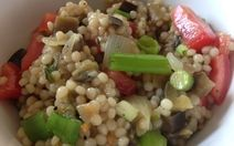 Pearl Couscous Eggplant Salad Recipe