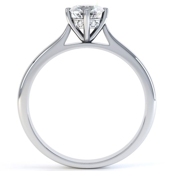 Diamond Ring Side Viewring Side View Of Vatche Royal Crown