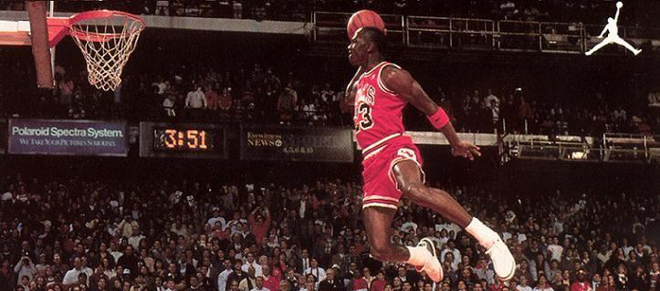 China cocinar Bendecir  Michael Jordan Famous Dunk | THE EVOLUTION OF MICHAEL JORDAN | Michael  jordan basketball, Michael jordan photos, Michael jordan