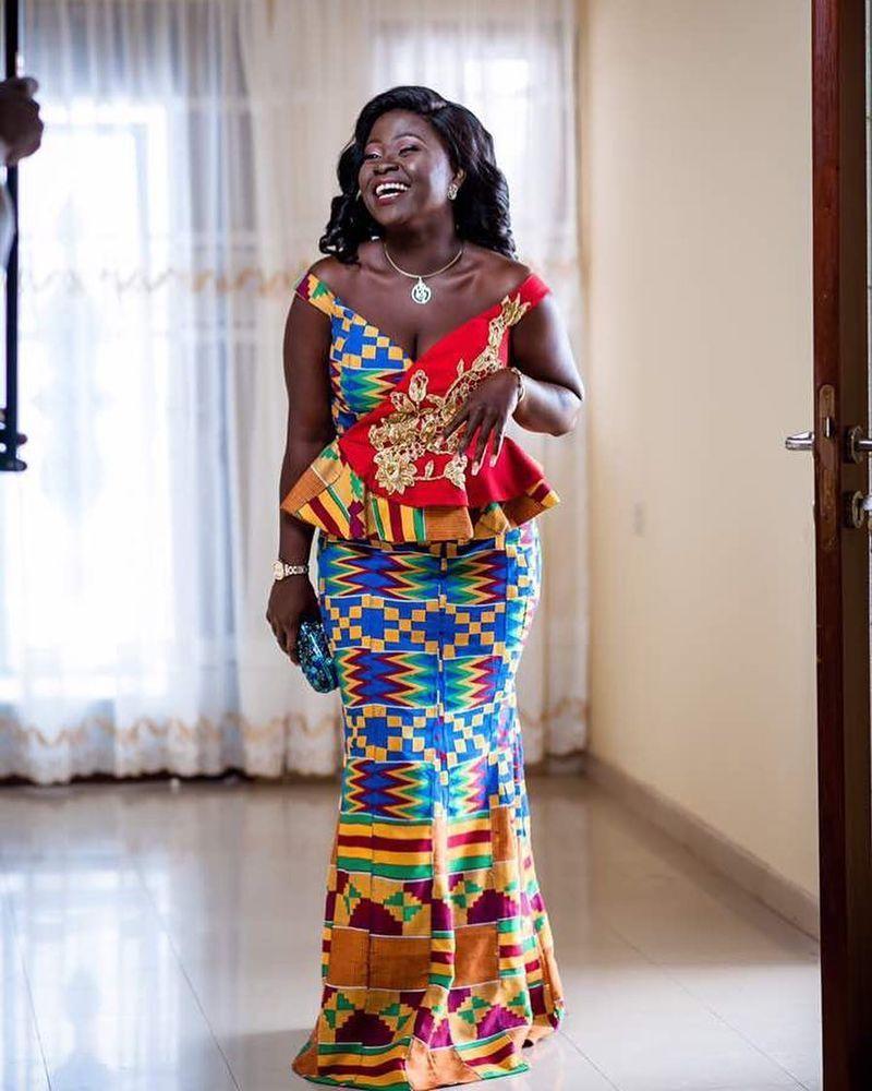 10 Fabuleuses Robes En Pagne Kita Du Ghana Qui Vont épater