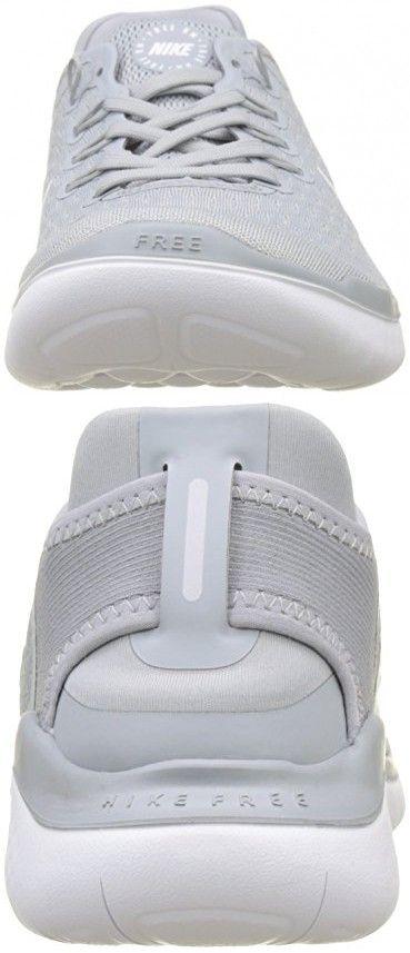 3aeffd70b5b2 NIKE Men s Free RN 2018 Wolf Grey White-White-Volt Running Shoes (10 ...