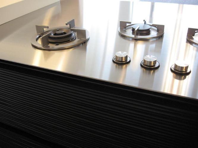 I-cooking gas 4 mm rvs blad Maatwerk