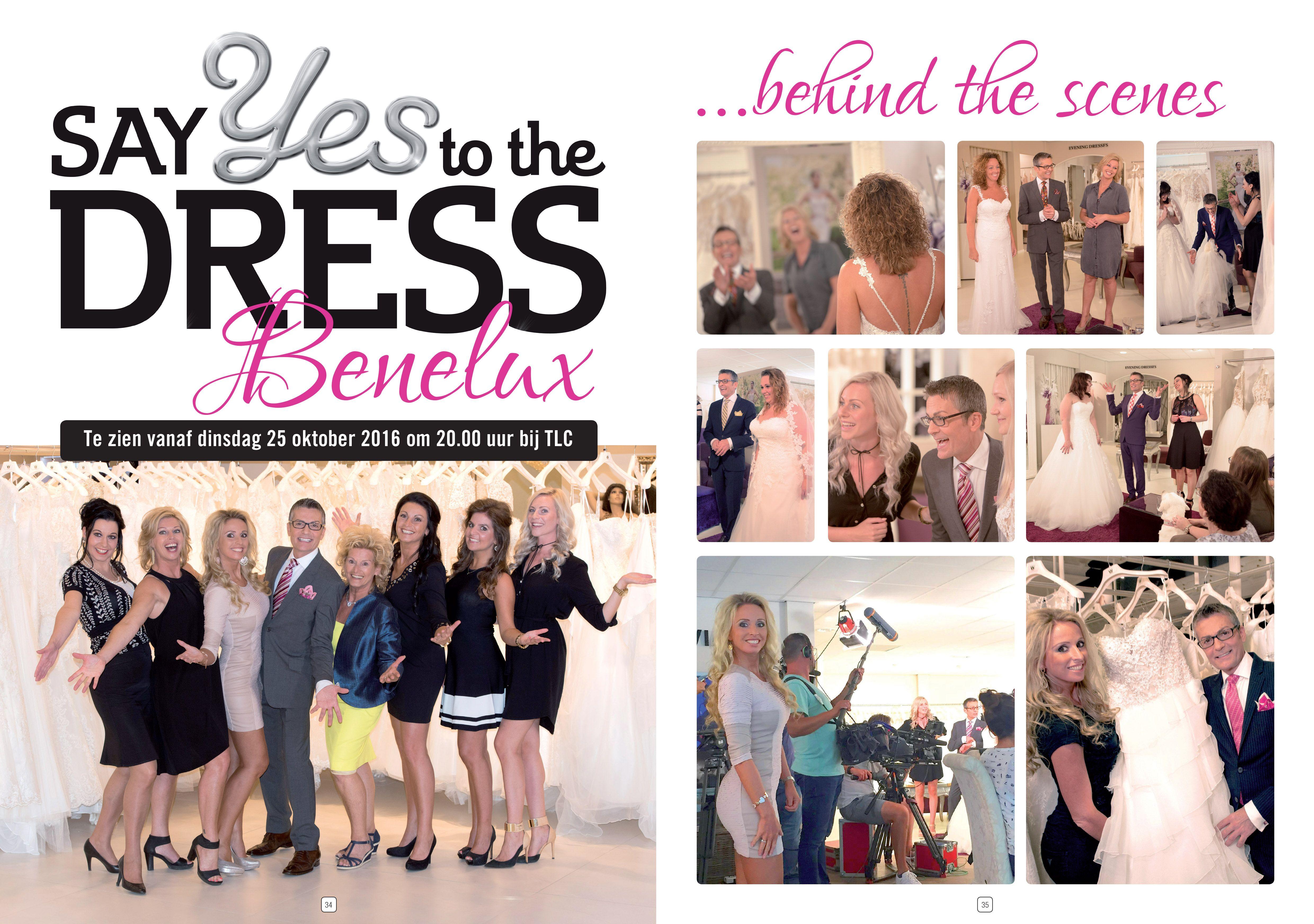 Say yes to the dress Benelux vanuit Koonings The Wedding Palace is het best bekeken programma van TLC ooit! De eerste aflevering van 'Say yes to the dress Benelux' op 25 oktober trok 213.000 kijkers en is daarmee het best bekeken programma van TLC ooit.  TLC stond tijdens die eerste uitzending van 'Say yes to the dress Benelux' in de top 3 van best bekeken zenders in Nederland bij vrouwen tussen de 20 en de 49 jaar.