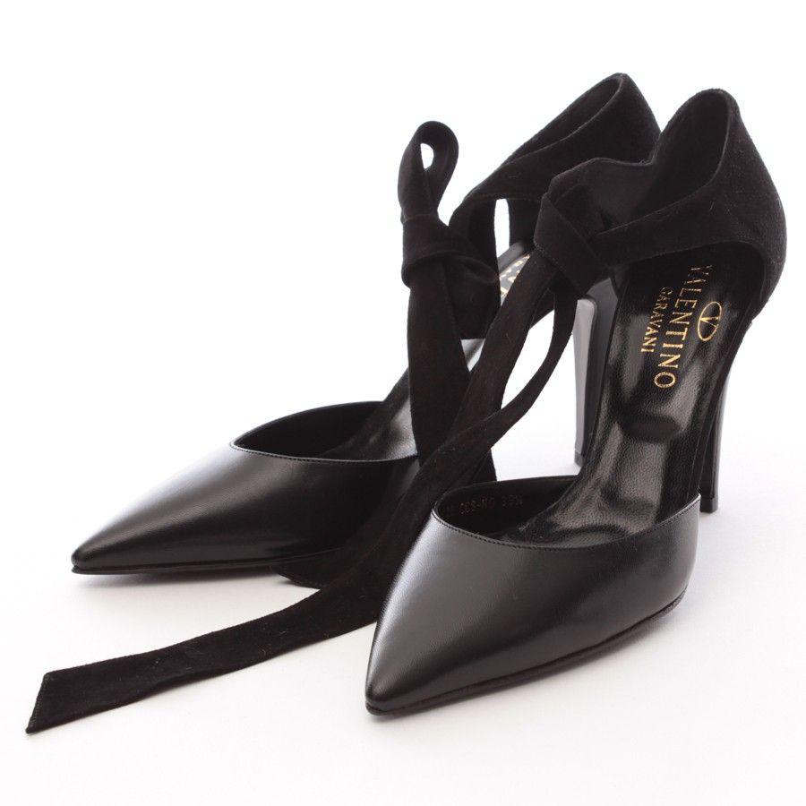 Sehr schöne Pumps von Valentino in Schwarz Gr. EU 39,5   Style ... 6e226a0d22