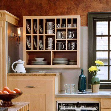 33 Creative Kitchen Storage Ideas - Shelterness   Creative ideas for on creative kitchen countertop ideas, creative kitchen backsplashes ideas, creative kitchen sink ideas,
