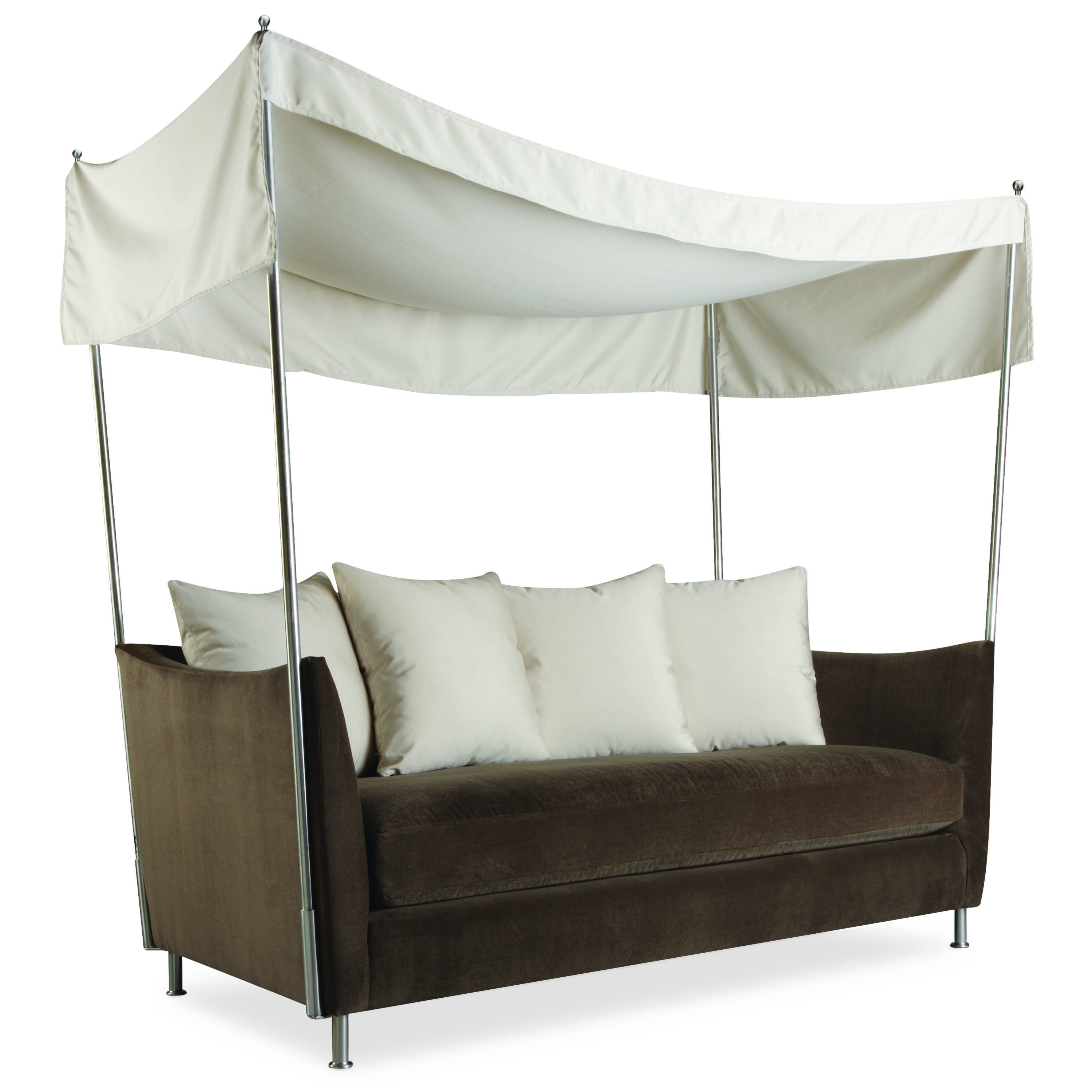 Lee Industries Oleander Outdoor Apartment Sofa With Canopy