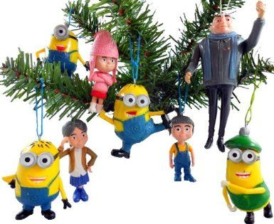 Despicable Me Christmas Ornaments | Christmas Ideas! | Pinterest ...