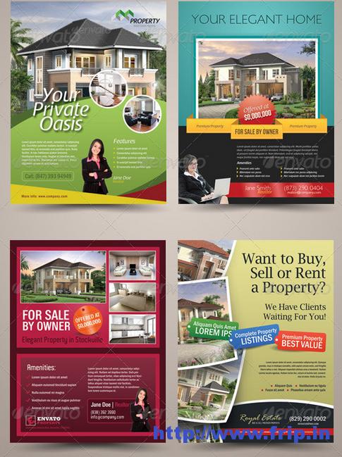 50 Best Real Estate Flyer Print Templates 2017 Print Templates