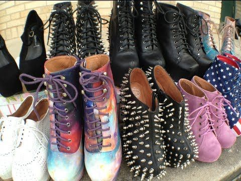 Jeffrey Campbell Shoe Collection By Grav3yardgirl Jeffrey Campbell Shoes Bunny Shoes Crazy Shoes