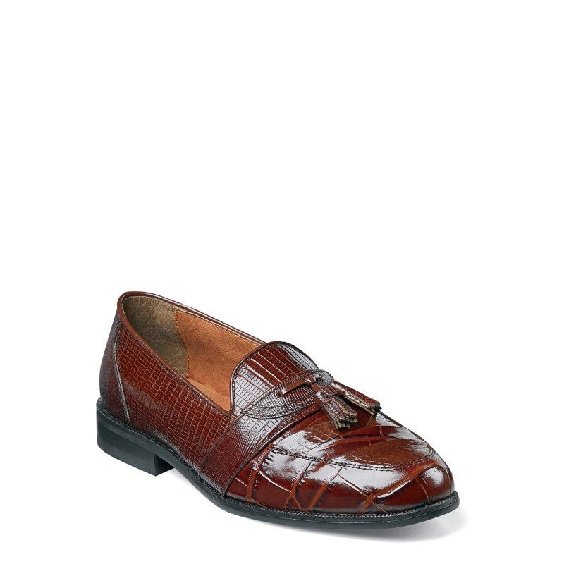 c200e83e49 Stacy Adams Men s Santana Tassel Loafers (Cognac) - 12.0 M