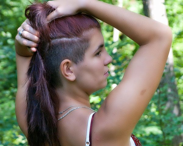 In The Woods 25 Glamorous Shaved Hairstyles For Women