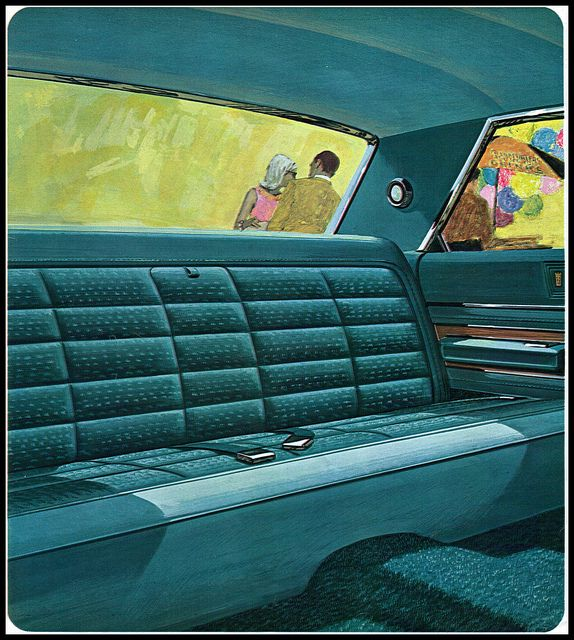 1966 Chrysler New Yorker Interior Rear Seat By Coconv Via