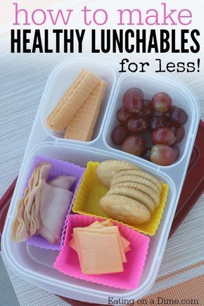 How to make Healthy Lunchables - Homemade lunchables images