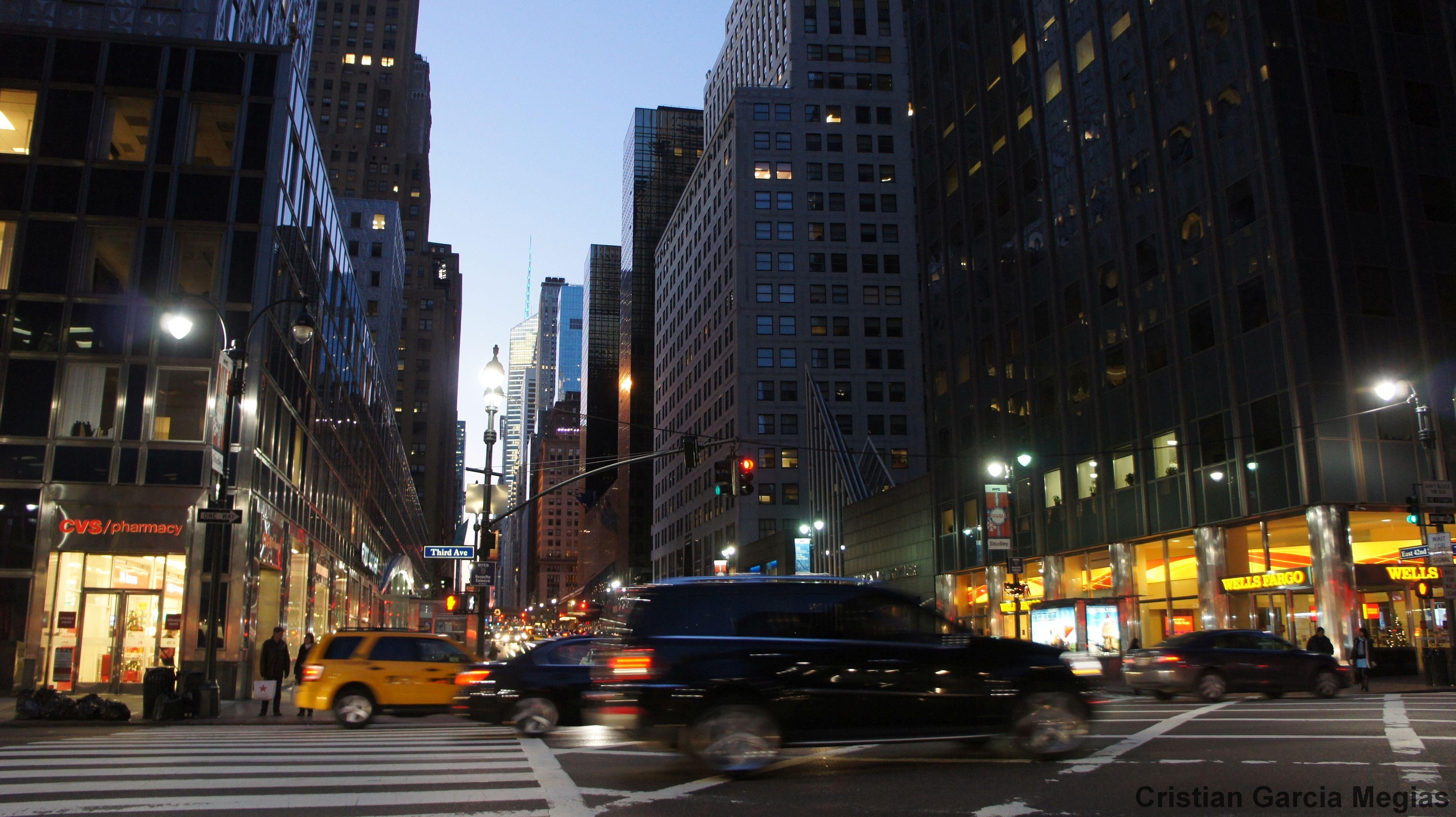 Tercera Avenida, Nueva York.