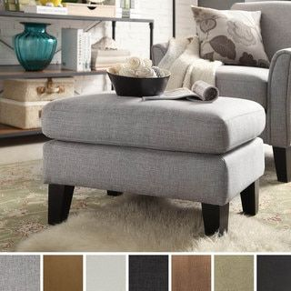 Shop For Uptown Modern Ottoman By TRIBECCA HOME Get Free Shipping At Overstock
