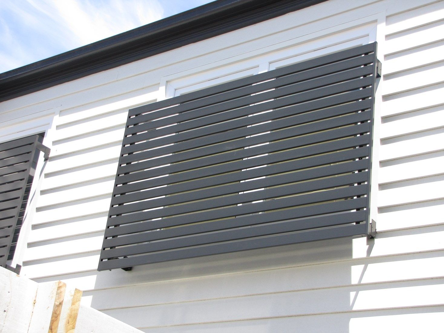 Bayside Privacy Screens Install Quality Aluminium Baton Style