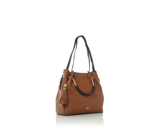 Create a statement with the chic Daura metal top handle slouch bag.  Showcasing an oversized a7750b56cd