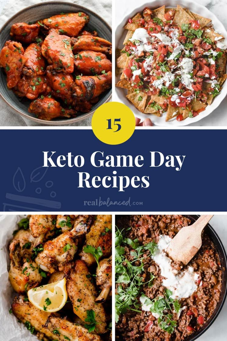 Keto Game Day Recipes Low Carb Appetizers and Snacks for