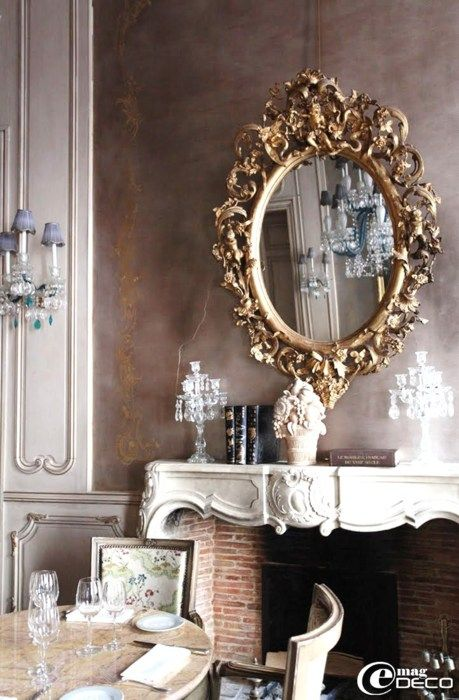 French décor - - vintage - style - classic - luxury - antique