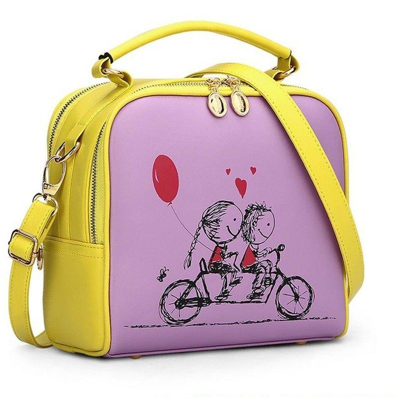 Bolsa Transversal Bicycle Girl