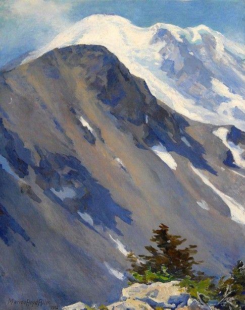 Western Mountain Landscape - Marion Boyd Allen (1862 – 1941)
