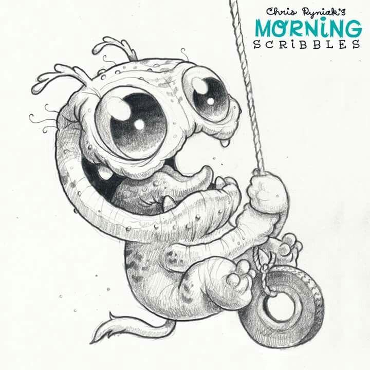 pin von lea auf zeichnungen  monster zeichnung