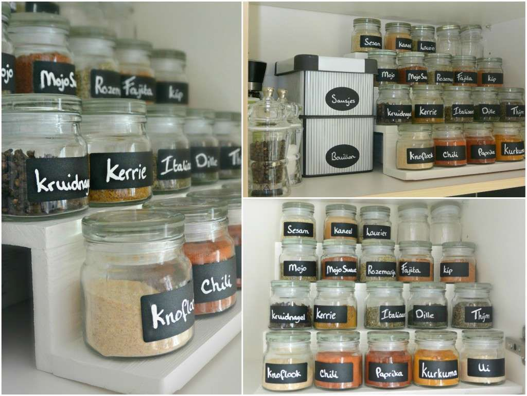 Ikea Küche Organisation Diy Kruidenrek En Kruidenpotjes Simplethoughts Simple